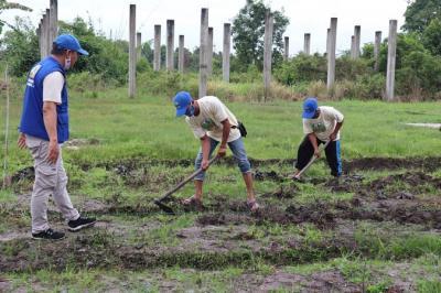 Cegah Karhutla, BNPB Ajak Warga Riau Olah Lahan Gambut Tanpa Membakar