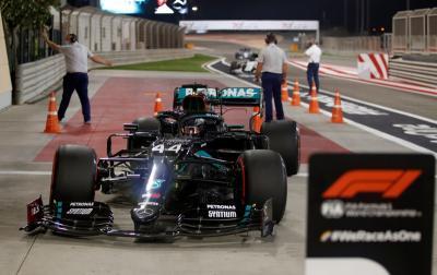 Hasil Kualifikasi F1 GP Bahrain 2020: Lewis Hamilton Rebut Pole Position