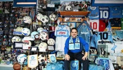 Museum Maradona di Napoli, Altar Suci sang 'Malaikat Pelindung'