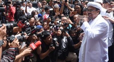 Petinggi FPI Mengaku Tak Tahu Keberadaan Habib Rizieq