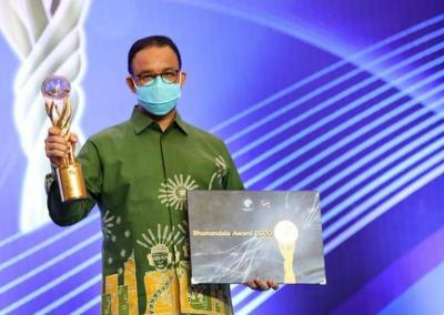 Pemprov DKI Sabet 2 Penghargaan Bhumandala Award 2020