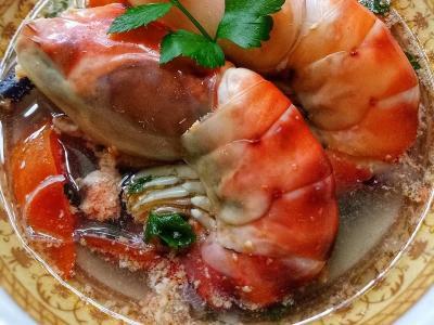 Sup Udang Galah, Hidangan Lezat yang Menggiurkan Lidah