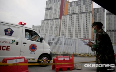 Kasus Corona Meningkat, 1 Tower Isolasi Mandiri di Wisma Atlet Dialihfungsikan