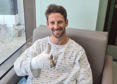 Bos Haas Dukung F1 Tayangkan Kecelakaan Mengerikan Grosjean di GP Bahrain
