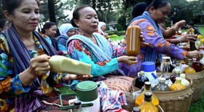 Sri Mulyani Sarankan Tukang Jamu Jualan Online