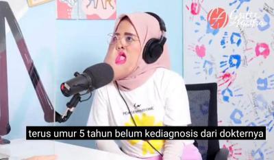 Viral di TikTok, Ini Kisah Inspiratif Maita Hijaber Melawan Tumor Wajah