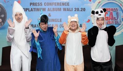 Album Wali Capai Rekor di Masa Pandemi, Raih Multi Platinum