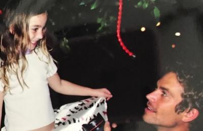 Peringati 7 Tahun Meninggalnya Paul Walker, Sang Putri Unggah Foto Lawas