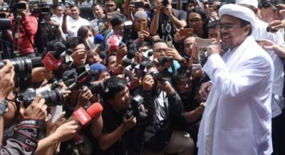 FPI Sebut Habib Rizieq ke Sentul Menengok Cucunya