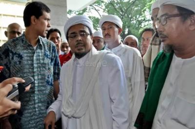 Tegas! Polisi Tunggu Habib Rizieq hingga Malam jika Mangkir Akan Dijemput Paksa