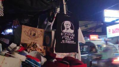 Jelang 2 Desember, Penjual Kaos Habib Rizieq Kebanjiran Untung