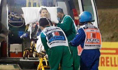 Selamat dari Kecelakaan Horor, Tim Medis F1: Telat 5 Detik Nasib Grosjean Bisa Beda