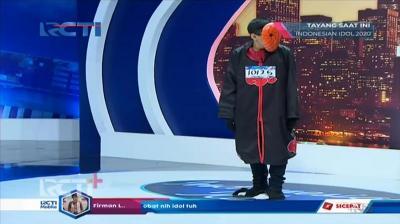 Juri Indonesian Idol Terdiam Lihat Peserta dengan Cosplay Tobi Akatsuki