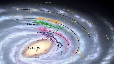 Ilmuwan: Bumi Berjarak 2.000 Tahun Cahaya Lebih Dekat ke Pusat Bima Sakti