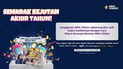 Semarak Kejutan Akhir Tahun: MNC Vision Hujan Bonus hingga Jutaan Rupiah!