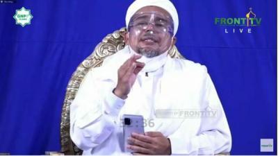 Bicara Revolusi Akhlak, Habib Rizieq Ingatkan Indonesia Bukan Negara Kekuasaan