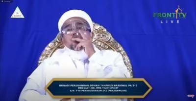 Habib Rizieq: Revolusi Akhlak Bukan Cari Kekuasaan!