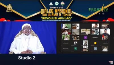 Habib Rizieq: Jangan Berpikir Revolusi Akhlak Itu Revolusi Bersenjata!
