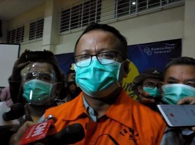 KPK Acak-Acak Rumah Dinas Edhy Prabowo