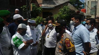 Datangi Rumah Habib Rizieq, Polisi: Alhamdulillah Diterima dengan Baik
