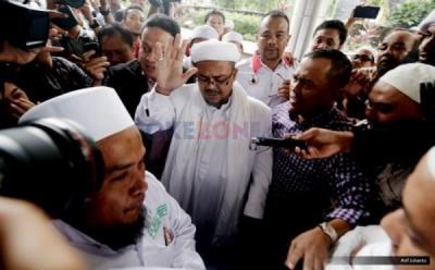 Polda Metro Jadwalkan Pemanggilan Kedua Habib Rizieq Kamis Besok