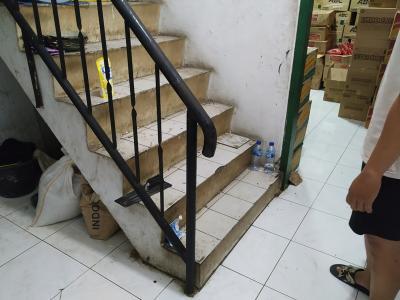 Maling Gasak Hampir Rp500 Juta dari Toko Sembako, Ada Jejak Ceceran Darah