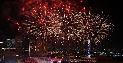 5 Perayaan Tahun Baru Paling Meriah di Berbagai Negara