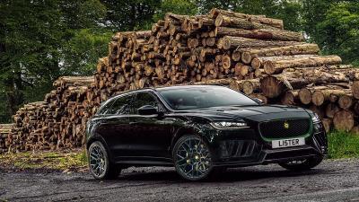 Jaguar F-Pace SVR 2021 Super Lebih Cepat dan Super Mewah