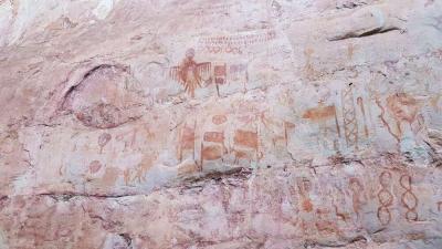 Lukisan Purbakala Berusia 11.800 Tahun Ditemukan di Hutan Amazon