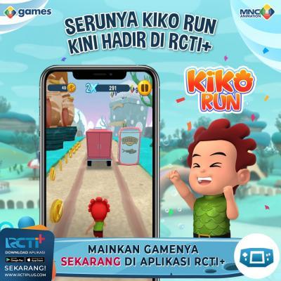 Main KIKO Run Makin Seru di Aplikasi RCTI+