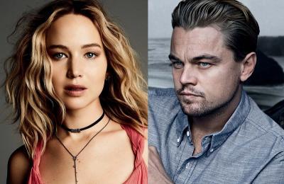 Leonardo DiCaprio dan Jennifer Lawrence Syuting Film Baru di Stasiun Kereta