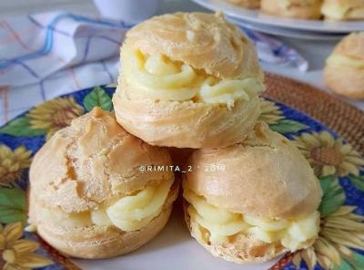 Kue Sus, Pastry Cantik dengan Citarasa yang Begitu Lezat