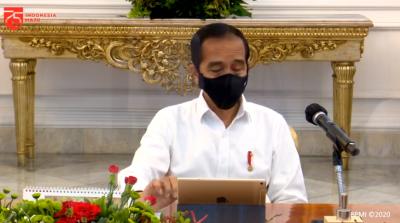 Presiden Jokowi Sebut Ekonomi Indonesia Sudah Lewati Titik Terendah
