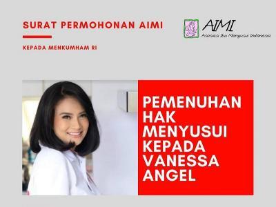 8 Poin Penting Surat AIMI untuk Menkumham Terkait Hak Menyusui Vanessa Angel