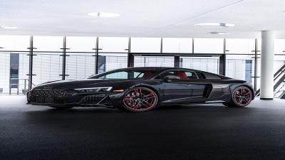 Transformasi Audi R8 Menjadi Audi R8 Black Panther