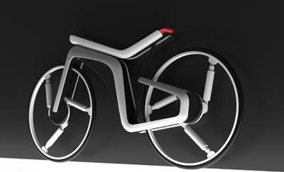Desainer Ini Rancang Sepeda Listrik Canggih, Naik Bukit Jadi Gampang