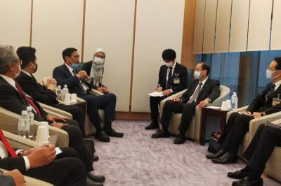 Aksi Luhut dan Erick Thohir Temui Investor Kakap Jepang Promosikan SWF