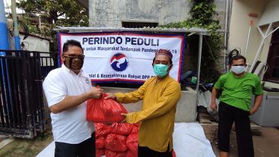 Pandemi Covid-19, Perindo Salurkan Bantuan untuk Pekerja Rumah Ibadah