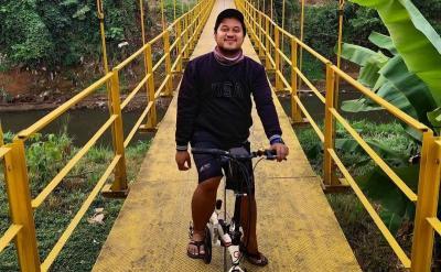 Viral, Intip Keasrian Jembatan Kuning Condet yang Diburu Anak TikTok