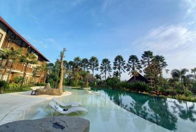 Serunya Pelesiran ke Gianyar, Nginap di Vila Sambil Menikmati View Aneka Satwa