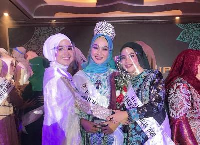 Sisihkan 49 Finalis, Auliya Fajriyati Raih Gelar Putri Hijab Indonesia 2020