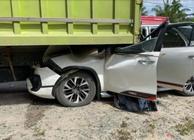 Ini Kronologi Kecelakaan Wakil Ketua DPD Mahyudin hingga Mobilnya Ringsek