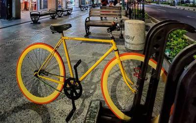 Enggak Cuma Tempat Parkir Mobil di Malioboro, Buat Pesepeda Juga Ada Loh