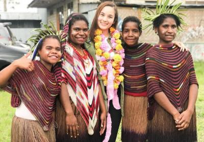 Intip Keunggulan Noken Wamena yang Dipakai si Cantik Chelsea Islan
