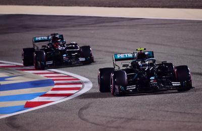 Hasil Kualifikasi F1 GP Sakhir 2020: Bottas Rebut Start Terdepan