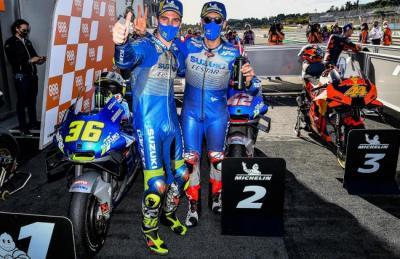 Joan Mir Akui Ada Andil Alex Rins dalam Kesuksesannya di MotoGP 2020