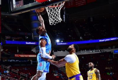 LA Lakers Taklukkan Houston Rockets 117-100 di NBA 2020-2021