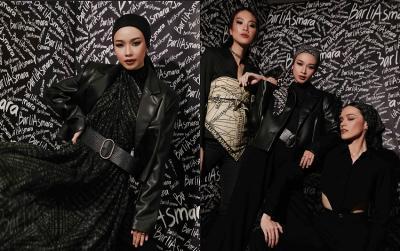 Rumah Mode Barli Asmara Luncurkan Scarf Scribble yang Pertegas Keindahan Pemakainya