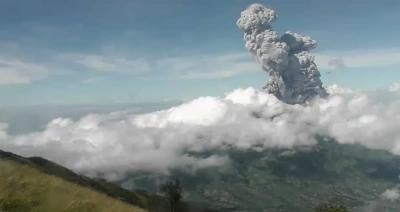 Aktivitas Gunung Merapi Masih Dalam Status Siaga