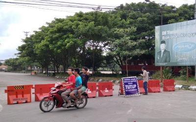 Terminal Wisata Bakalan Krapyak Ditutup Total